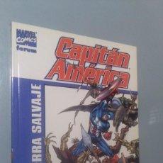 Cómics: CAPITAN AMERICA - TIERRA SALVAJE # ( EST NEGRA). Lote 208479816