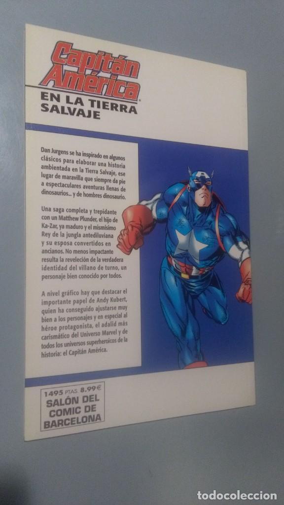 Cómics: CAPITAN AMERICA - TIERRA SALVAJE # ( EST NEGRA) - Foto 2 - 208479816
