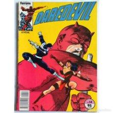 Cómics: DAREDEVIL VOL 1 Nº 14 / MARVEL / FORUM 1983 (FRANK MILLER & KLAUS JANSON) PROCEDE DE RETAPADO. Lote 221670035