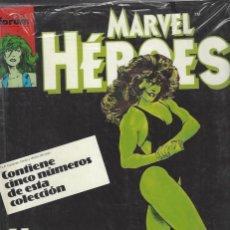 Cómics: MARVEL HEROES - RETAPADO - NºS 36 AL 40 - NUEVO A ESTRENAR. Lote 252688915
