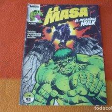Cómics: LA MASA VOL. 1 Nº 6 EL INCREIBLE HULK MARVEL FORUM. Lote 208731390