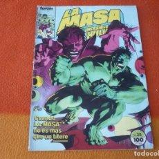 Cómics: LA MASA VOL. 1 Nº 35 EL INCREIBLE HULK ( MANTLO BUSCEMA ) MARVEL FORUM. Lote 208750547