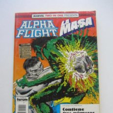 Cómics: ALPHA FLIGHT LA MASA RETAPADO Nº 51 52 53 FORUM E2. Lote 208768510