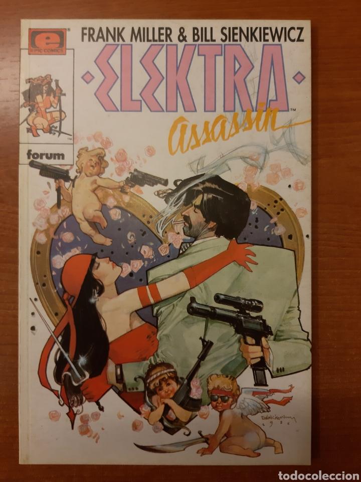 Cómics: Elecktra Assassin 1 al 4 completa Frank Miller Bill Sienkiewicz Colección Prestigio 12, 14 al 16 - Foto 2 - 208805435