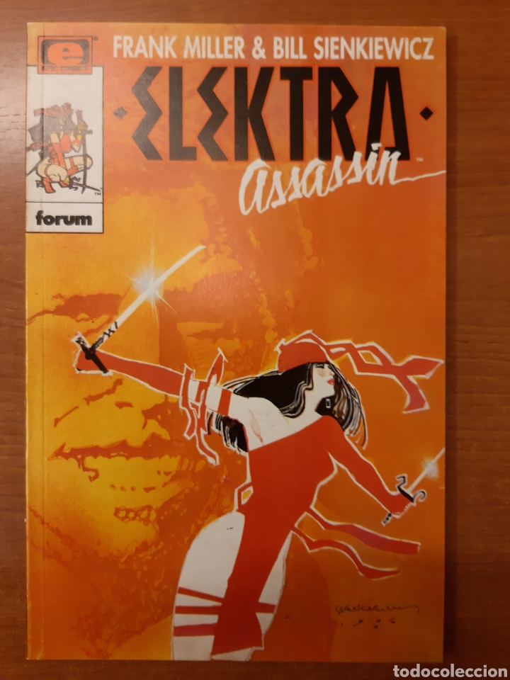 Cómics: Elecktra Assassin 1 al 4 completa Frank Miller Bill Sienkiewicz Colección Prestigio 12, 14 al 16 - Foto 3 - 208805435