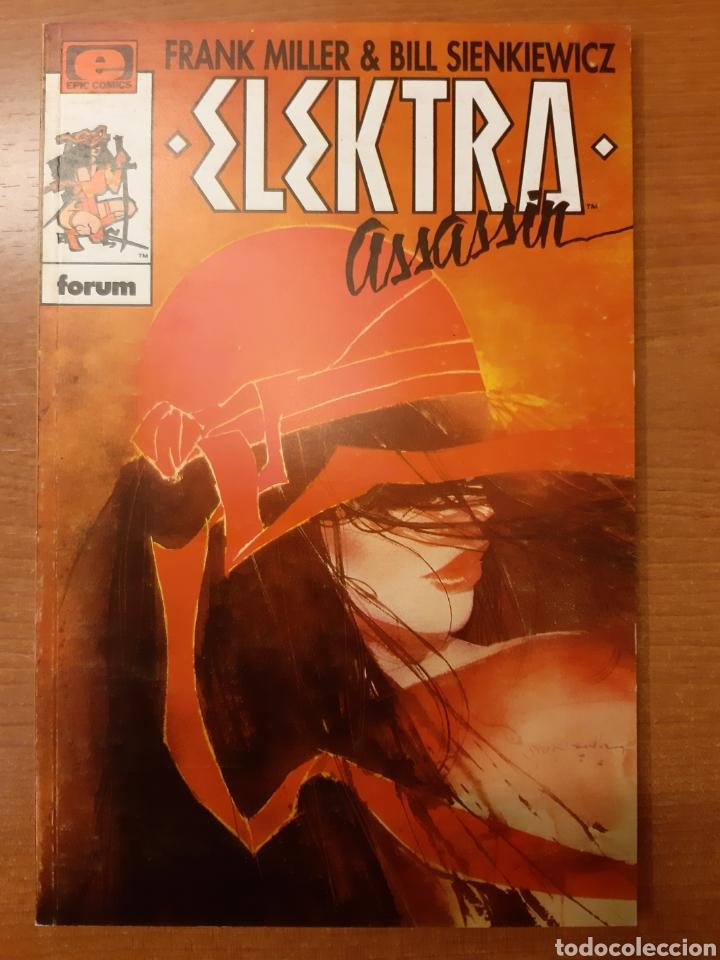 Cómics: Elecktra Assassin 1 al 4 completa Frank Miller Bill Sienkiewicz Colección Prestigio 12, 14 al 16 - Foto 4 - 208805435