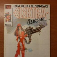 Cómics: ELECKTRA ASSASSIN 1 AL 4 COMPLETA FRANK MILLER BILL SIENKIEWICZ COLECCIÓN PRESTIGIO 12, 14 AL 16. Lote 208805435