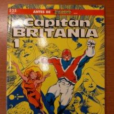 Cómics: CAPITÁN BRITANIA 1 ALAN DAVIS JAMIE DELANO COLECCIÓN PRESTIGIO 19. Lote 208806297