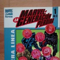 Cómics: MARVEL LA GENERACION PERDIDA 1 - POSIBILIDAD DE ENTREGA EN MANO EN MADRID. Lote 208807331