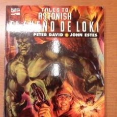 Cómics: EL SUEÑO DE LOKI TALES TO ASTONISH PETER DAVID JOHN ESTES COLECCIÓN PRESTIGIO VOL II 5. Lote 208809235