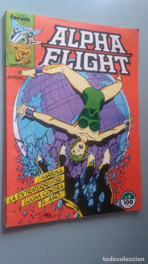 ALPHA FLIGHT 3 VOLUMEN 1 # (Tebeos y Comics - Forum - Alpha Flight)