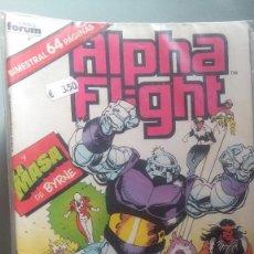 Cómics: ALPHA FLIGHT 35 BIMESTRAL 64 PAGINAS VOLUMEN 1 #. Lote 209025025