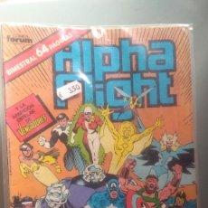 Cómics: ALPHA FLIGHT 37 BIMESTRAL 64 PAGINAS VOLUMEN 1 #. Lote 209025071