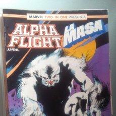 Cómics: ALPHA FLIGHT 41 BIMESTRAL 64 PAGINAS VOLUMEN 1 #. Lote 209025280