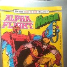 Cómics: ALPHA FLIGHT 46 BIMESTRAL 64 PAGINAS VOLUMEN 1 #. Lote 209025553