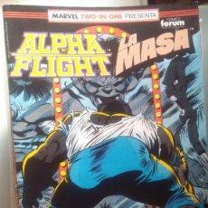Cómics: ALPHA FLIGHT 53 BIMESTRAL 64 PAGINAS VOLUMEN 1 #. Lote 209025837