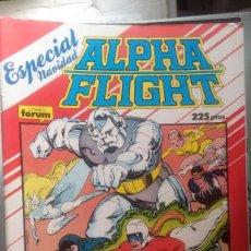 Comics : ALPHA FLIGHT ESPECIAL NAVIDAD 64 PAGINAS VOLUMEN 1 #. Lote 209025905