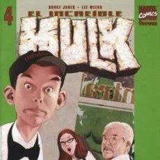 Cómics: EL INCREÍBLE HULK VOL. 2 (2003-2004) #4. Lote 209072666