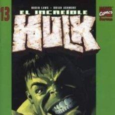 Cómics: EL INCREÍBLE HULK VOL. 2 (2003-2004) #13. Lote 209072688