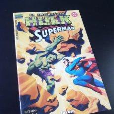 Cómics: EXCELENTE ESTADO HULK VS SUPERMAN FORUM. Lote 209183886
