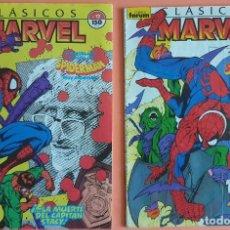 Cómics: CLASICOS MARVEL 12 13 - SPIDERMAN - LA MUERTE DE LOS STACY. Lote 209185630