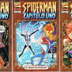 Cómics: SPIDERMAN CAPITULO UNO POR JOHN BYRNE COMPLETA TRES TOMOS. Lote 209292746