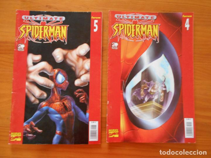 Cómics: ULTIMATE SPIDERMAN Nº 1, 2, 3 , 4 Y 5 - MARVEL - FORUM (H1) - Foto 3 - 209309685