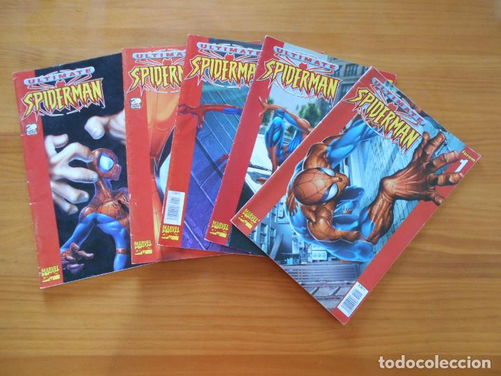 ULTIMATE SPIDERMAN Nº 1, 2, 3 , 4 Y 5 - MARVEL - FORUM (H1) (Tebeos y Comics - Forum - Spiderman)