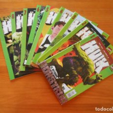 Cómics: EL INCREIBLE HULK VOLUMEN 2 Nº 1 A 9 - 9 NUMEROS - MARVEL - FORUM (R). Lote 209314782