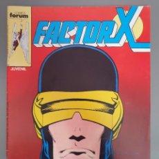Comics : FACTOR X 10. Lote 209362698
