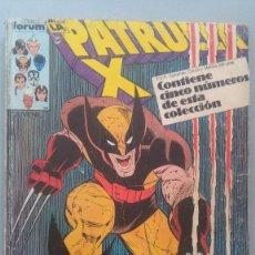 Cómics: PATRULLA X 57 AL 61. Lote 209711052