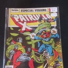 Cómics: FORUM PATRULA X ESPECIAL VERANO BUEN ESTADO. Lote 218960871