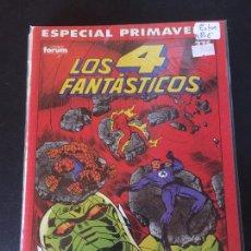 Cómics: FORUM LOS 4 FANTÁSTICOS ESPECIAL PRIMAVERA ESTADO. Lote 209751267
