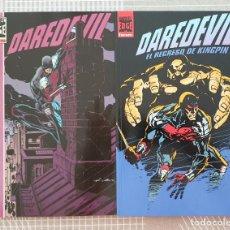 Cómics: DAREDEVIL COLECCIÓN COMPLETA DE 2 TOMOS. COMICS FORUM 1996. Lote 209751758