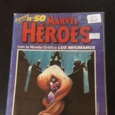 Cómics: FORUM MARVEL HEROES NUMERO 50 NORMAL ESTADO. Lote 209786172