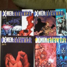Comics: X-MEN LA BÚSQUEDA DE CÍCLOPE 1 AL 4. COMPLETA. Lote 209813362