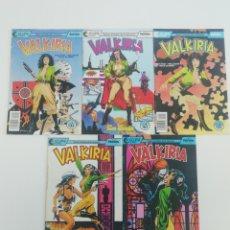 Cómics: SERIE LIMITADA VALKIRIA (1991).. Lote 209847870