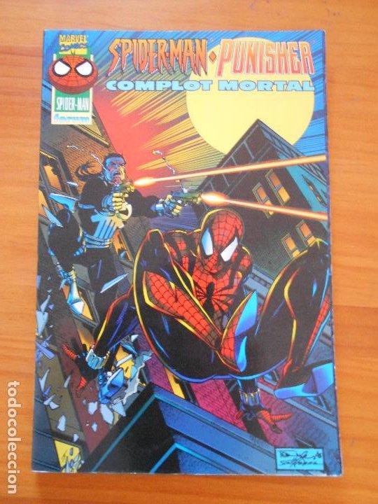 SPIDER-MAN / PUNISHER - COMPLOT MORTAL - MARVEL - FORUM - LEER DESCRIPCION (L1) (Tebeos y Comics - Forum - Spiderman)