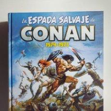 Fumetti: CONAN OMNIBUS - LA ESPADA SALVAJES V-02 (1974-1975)- PANINI. Lote 209921322