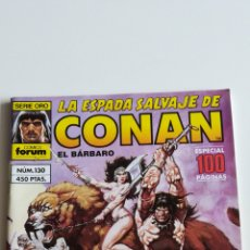 Comics: LA ESPADA SALVAJE DE CONAN N°130 (FORUM). Lote 209949188