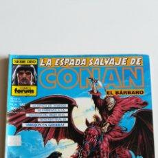 Comics: LA ESPADA SALVAJE DE CONAN N°142 (FORUM). Lote 209949632