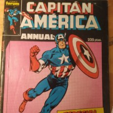 Comics : CAPITÁN AMÉRICA, ANNUAL, ESPECIAL PRIMAVERA 1987. Lote 209954268