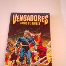 Comics : VENGADORES - JUEGO DE DIOSES - FORUM - TOMO ÚNICO - HARRAS - KAVANAGH - DEODATO - MUY BUEN ESTADO. Lote 209999000