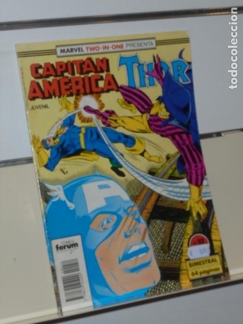 MARVEL TWO-IN-ONE PRESENTA CAPITAN AMERICA THOR Nº 52 - FORUM (Tebeos y Comics - Forum - Capitán América)