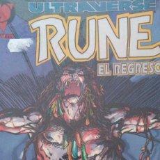 Cómics: RUNE-EL REGRESO # D. Lote 210031061