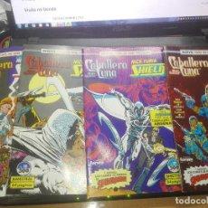 Comics: MARVEL TWO-IN-ONE: MARC SPECTOR: CABALLERO LUNA & NICK FURIA: AGENTE DE SHIELD (Nº 16, 17, 18 Y 19). Lote 210034240