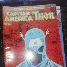 Cómics: CAPITAN AMERICA THOR - MARVEL TWO-IN-ONE - Nº 71 - INCLUYE POSTER. Lote 210039861