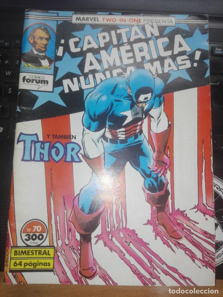 CAPITÁN AMERICA Y THOR VOL.1 N.70 MARVEL TWO IN ONE (Tebeos y Comics - Forum - Capitán América)