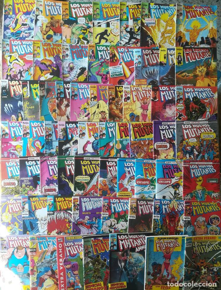 LOS NUEVOS MUTANTES 50 GRAPAS 2 RETAPADOS MAS 5 ESPECIALES SOLO FALTA 6 Y 27 CASI COMPLETA (Tebeos y Comics - Forum - Nuevos Mutantes)