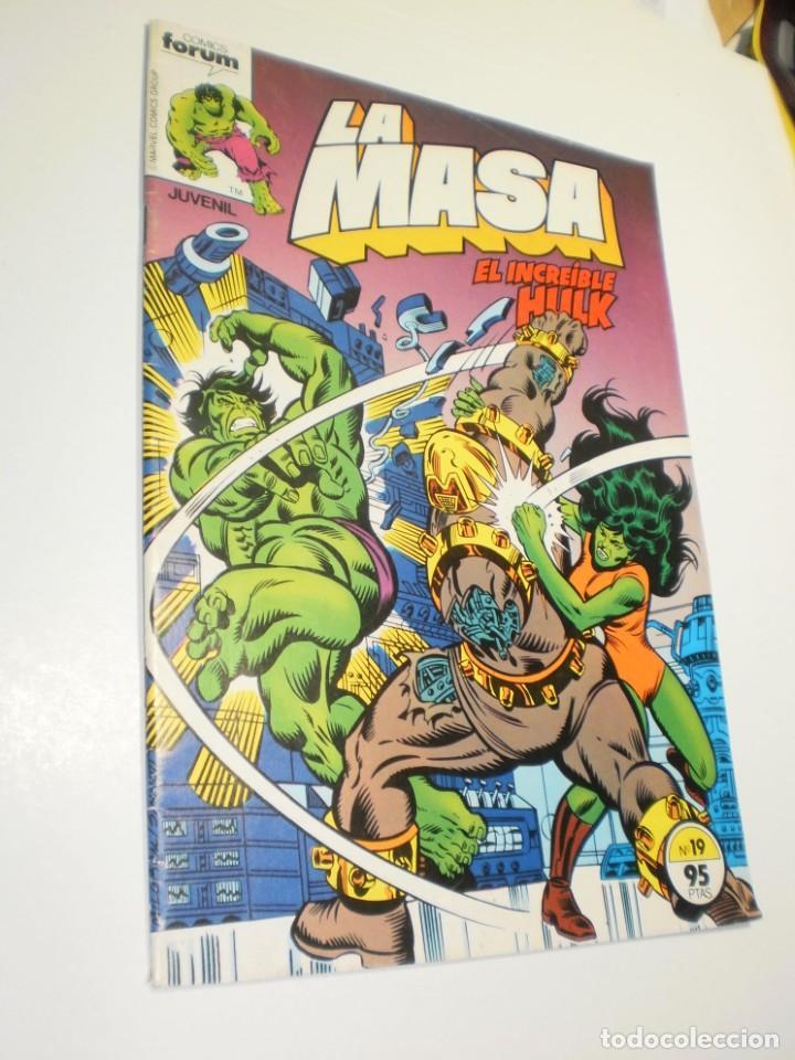 LA MASA EL INCREÍBLE HULK Nº 19 FORUM 1983 (BUEN ESTADO, SEMINUEVO) (Tebeos y Comics - Forum - Hulk)